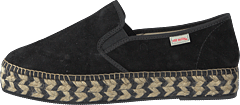 Stepper Espadrillo Black