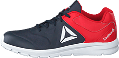 Reebok Rush Runner Navy/primal Red