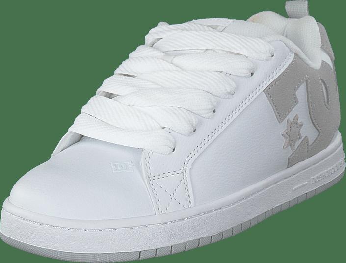 DC Shoes - Court Graffik White/grey/grey