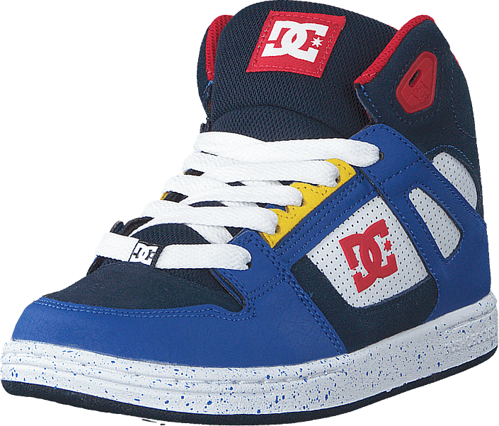 DC Shoes - Pure High.top Se Navy/red