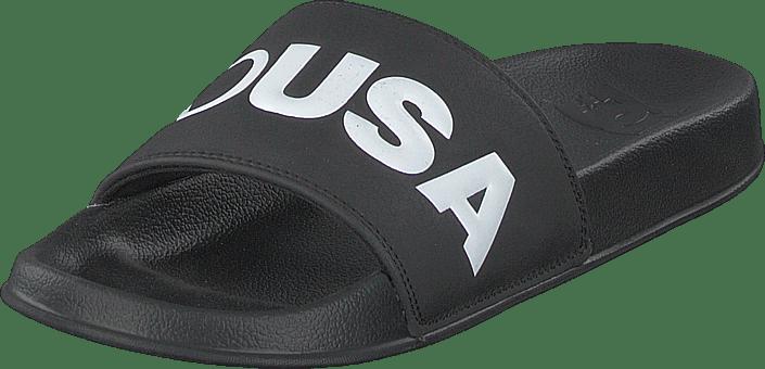 DC Shoes - Dc Slide Black/white