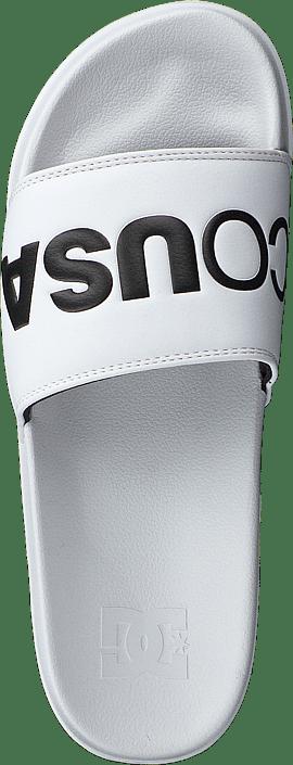 DC Shoes - Dc Slide White/black