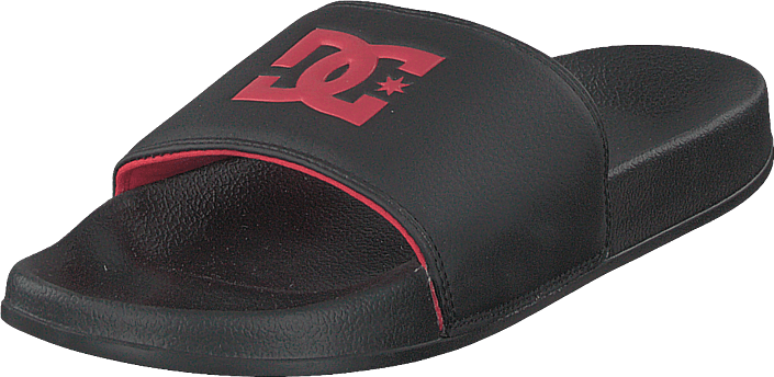 DC Shoes - Dc Slide Black/red