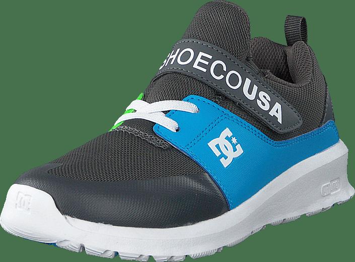 DC Shoes - Heathrow Prestige Ev Grey/green/blue
