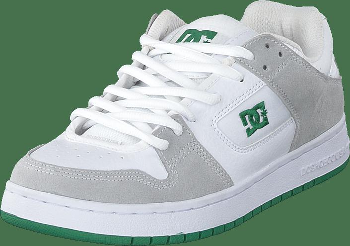DC Shoes - Manteca White/green