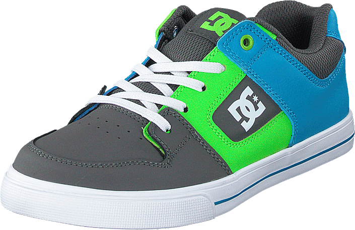 DC Shoes - Pure Elastic Grey/green/blue