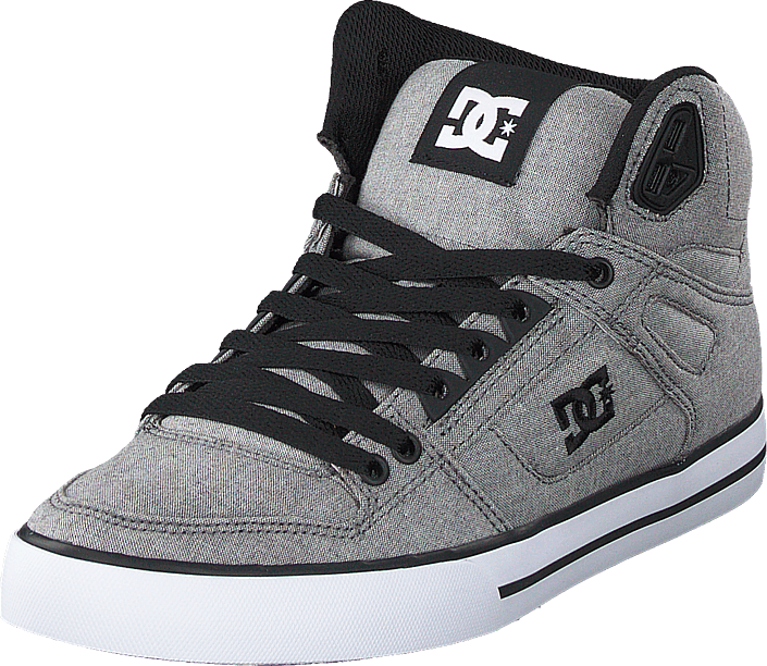 DC Pure High Top WC TXSE Noir Rouge Homme Skate Baskets