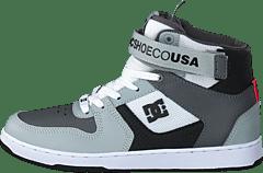 huge discount b61ac 3aeba DC Shoes - Pensford White grey black