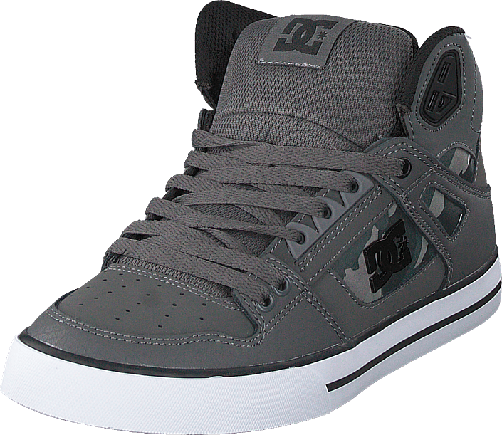 DC Shoes - Pure High-top  Wc Sp Gun Metal/white