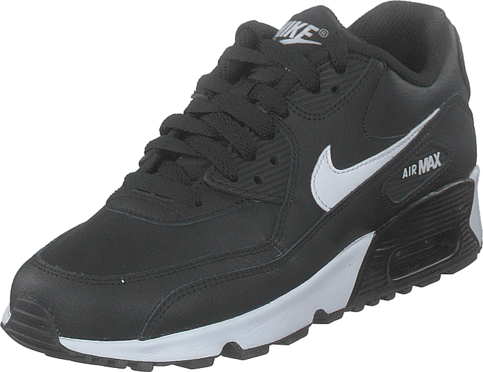 Air Max 90 Ltr (gs) Blackwhite Anthracite