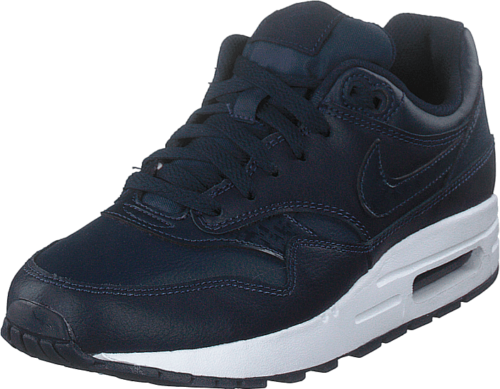 new product f28fb df60b Nike - Boy s Air Max 1 (gs) Obsidian obsidian-white