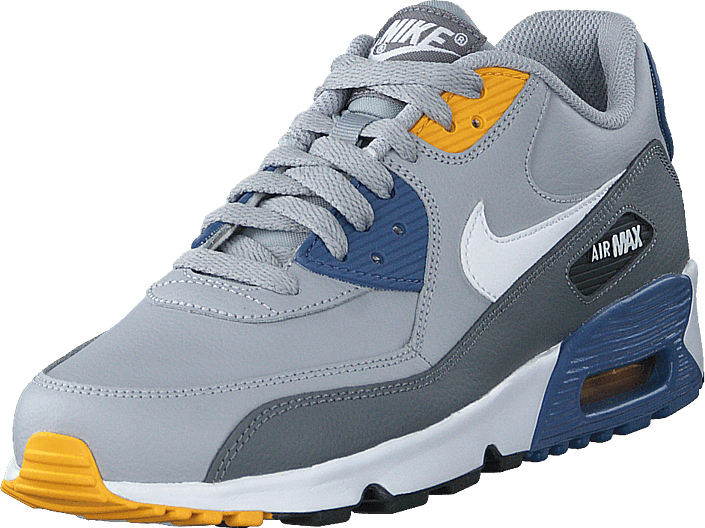 Nike - Air Max 90 Ltr (gs) Wolf Grey/white-indigo Storm
