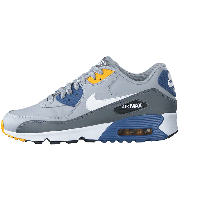 Nike Air Max 90 LTR Herre | Wolf GråWolf Grå Navy blå