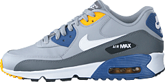 Air Max 90 Ltr (gs) Wolf Grey/white-indigo Storm
