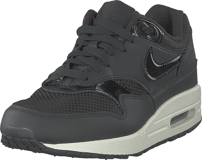 Wmns Air Max 1 Shoe Black/black-black-summit White
