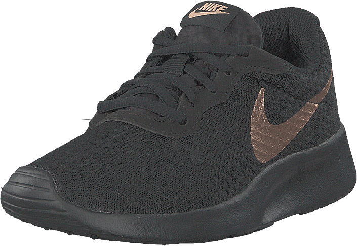 Nike - Women's Tanjun Black/metallic Red Bronze