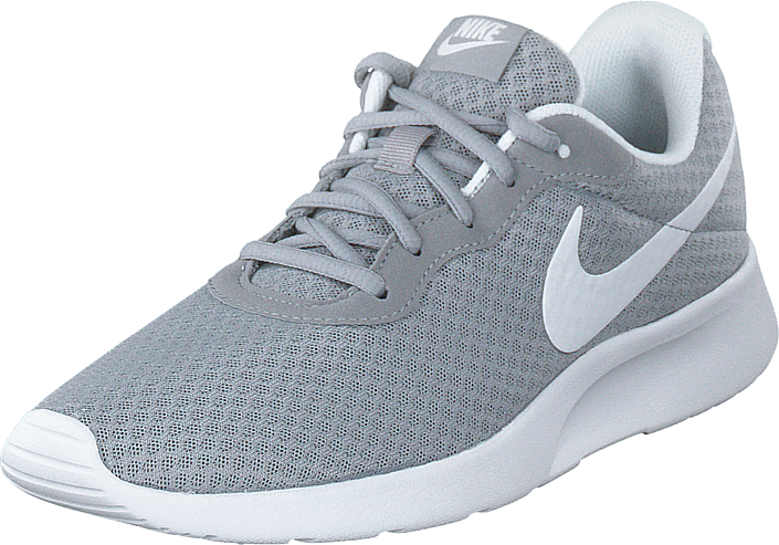 Nike - Women's Tanjun Wolf Grey/white