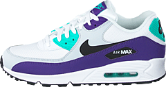 check out 3868f 7edf4 Nike - Air Max 90 Essential White black-hyper Jade