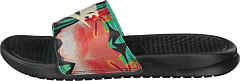 Benassi Just Do It Black/crimson Tint-green Glow