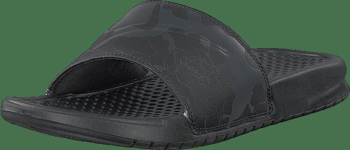 Nike - Benassi Just Do It Black/black-oil Grey