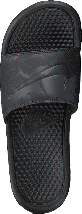 Kjøp Nike Benassi Just Do It Black/black-oil Grey Sko Online