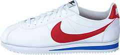 Wmns Classic Cortez Leather White/varsity Red