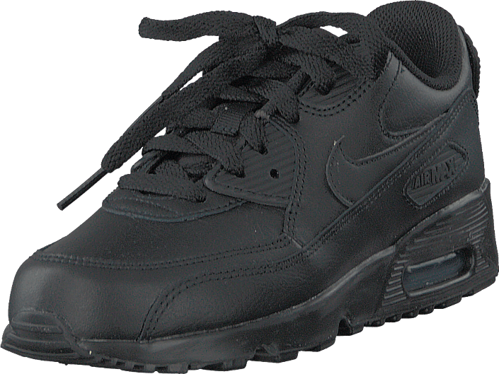 Nike - Boys' Air Max 90 Leather (ps) Black/black