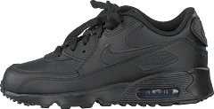 Boys' Air Max 90 Leather (ps) Black/black