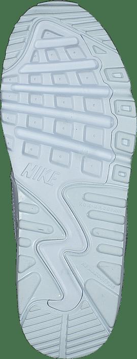 Boys' Air Max 90 Leather (ps) White/white