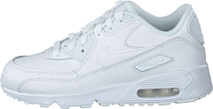 Boys' Air Max 90 Leather (ps) White/white