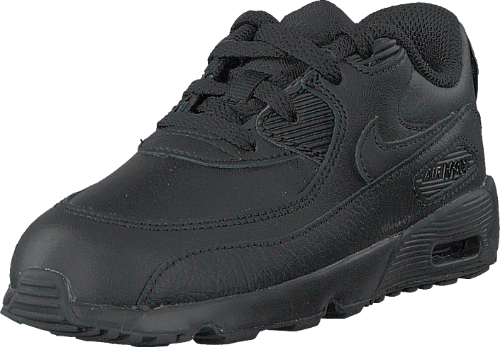 Nike - Boys' Air Max 90 Leather (td) Black/black