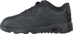 Boys' Air Max 90 Leather (td) Black/black