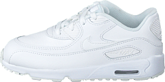 Boys' Air Max 90 Leather (td) White/white