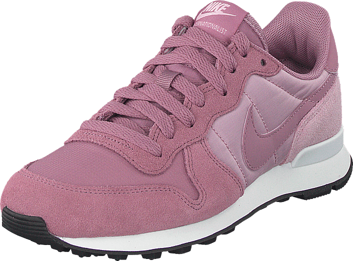 Wmns Plum Dustplum Black Internationalist Shoe Chalk f67gyYb