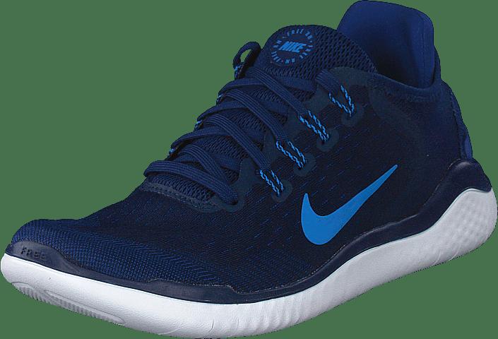innovative design 86f8d 0b9ef Nike - Free Rn 2018 Blue Void photo Blue-indigo