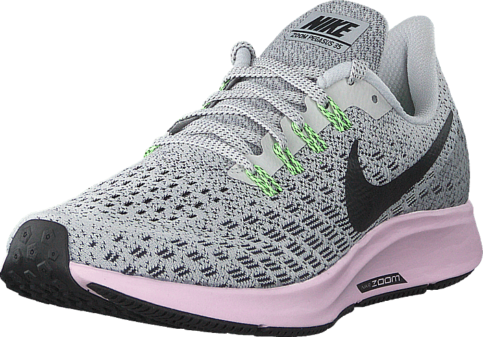 Cap entidad Mirilla  Wmns Air Zoom Pegasus 35 Vast Grey/black-pink Foam | Footway