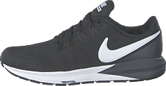 Men's Air Zoom Structure 22 Black/white-gridiron