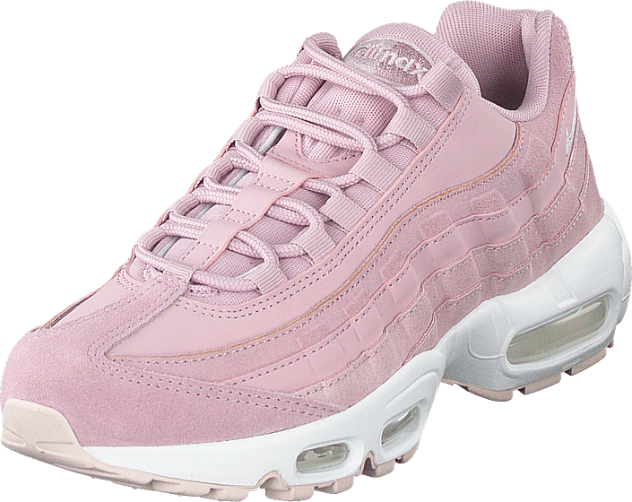 Wmns Air Max 95 Premium Plum Chalkbarely Rose white
