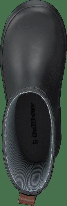 422-0001 Rubberboot Black