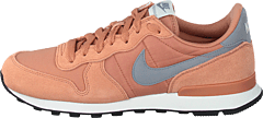 Wmns Internationalist Rose Gold/wolf Grey-white