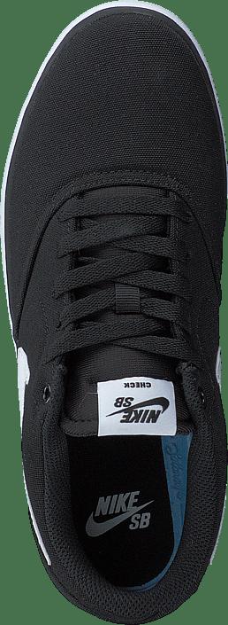 Kjøp Nike Sb Check Solar Canvas Blackwhite sko Online
