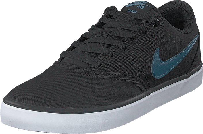 Nike - Men's Sb Check Solar Canvas Black/thunderstorm-white