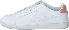 Wmns Court Royale White/white-rose Gold