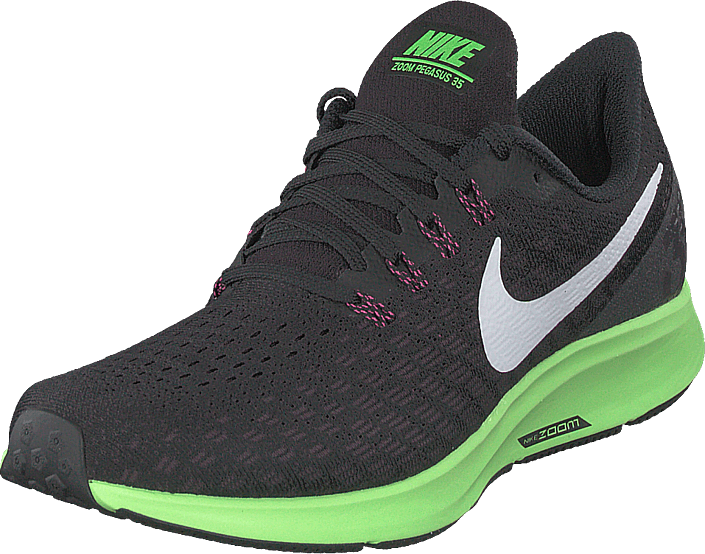 Nike - Men's Air Zoom Pegasus 35 Black/white-burgundy Ash-lime