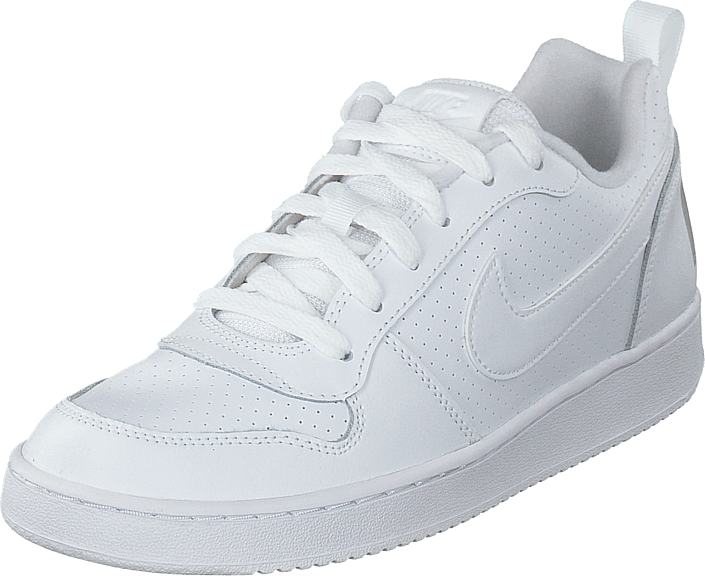 Nike - Court Borough Low (gs) White/white-white