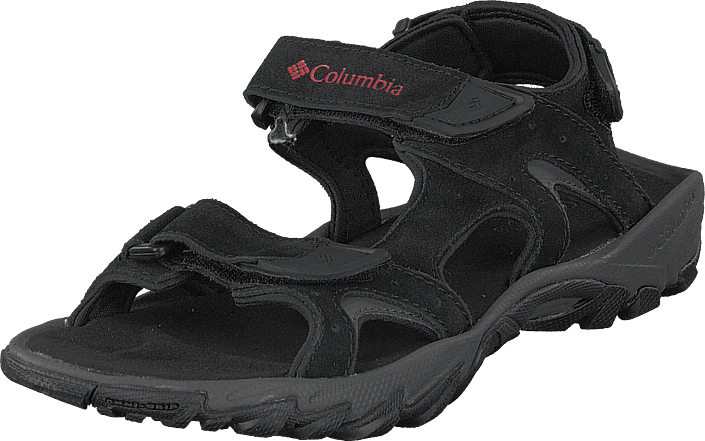 Columbia - Santiam 3 Strap Black, Mountain Red