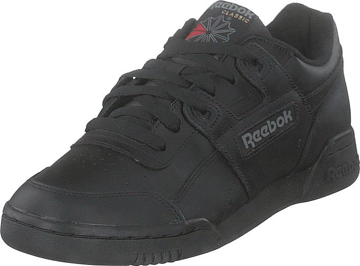 85cd542dfbb Kjøp Reebok Classic Workout Plus Black charcoal sorte Sko Online ...