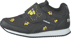Reebok Royal Cljog 2 Kc Black/coll Navy/yello