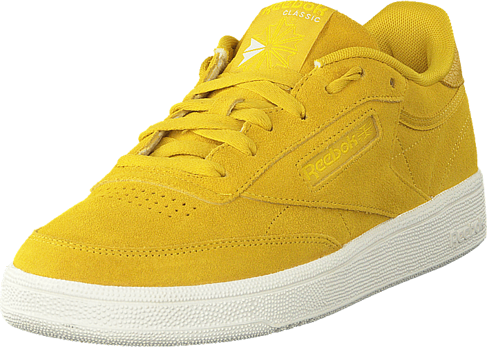 Sneakers 85 Sportsko go Yello 74 Og C 60138 Classic Yellow Urban Sko Gule Online Køb Reebok Club q47UUI