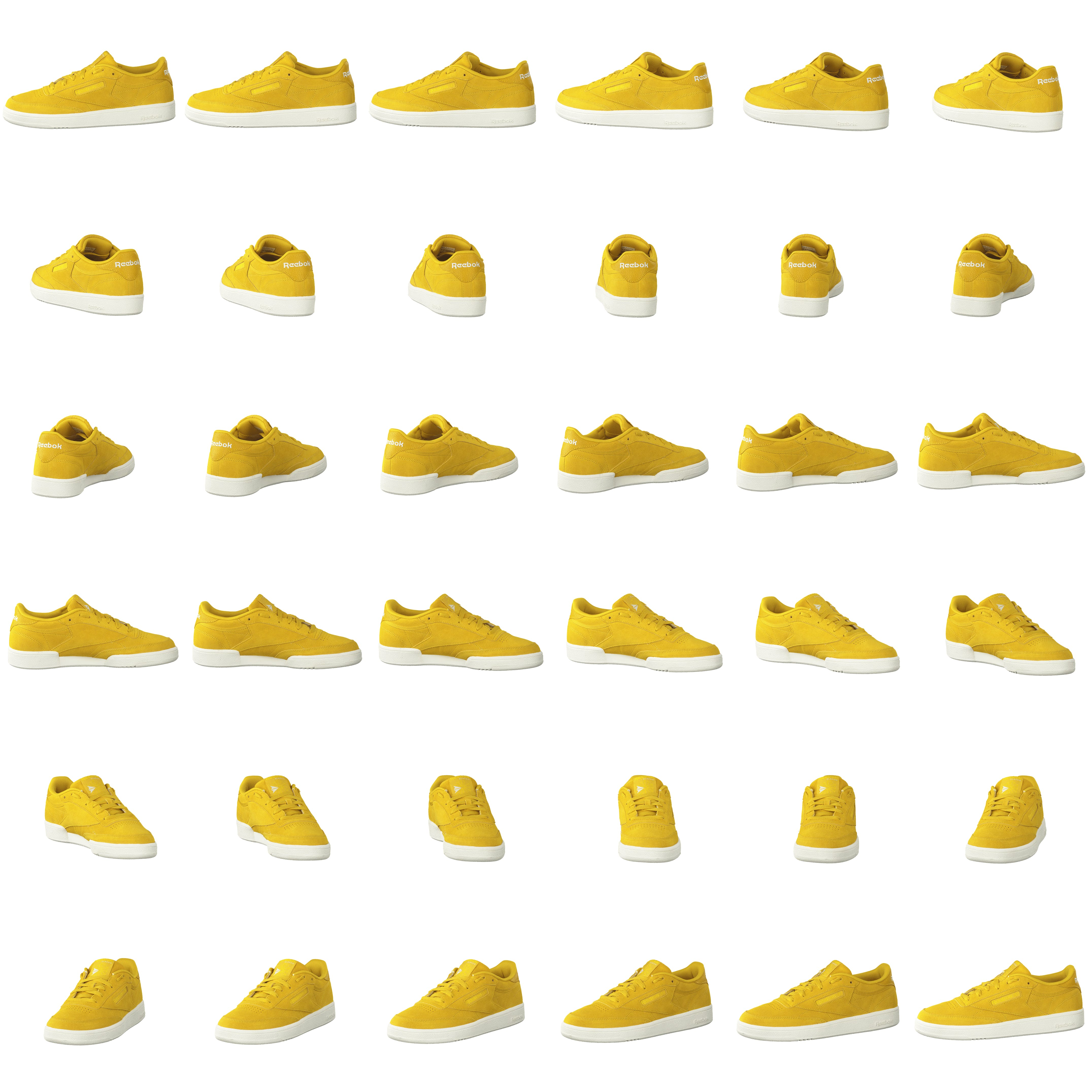 b4fcfb9079559 Buy Reebok Classic Club C 85 Urban Yellow go Yello yellow Shoes Online